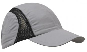 3814 Micro Fibre & Mesh Sports Cap with Reflective Trim