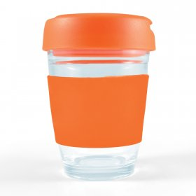 LL0432 Vienna Glass Coffee Cup / Flip Lid
