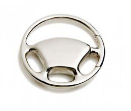 K8 Car Shaped Metal Promo Keyring