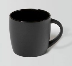 Boston Promotional Coffee Mug 330ml Matt Black