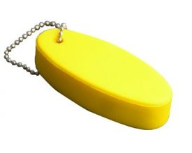 S26 Floating Surfboard Stress Keyring