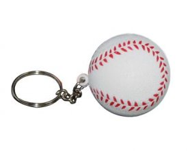 S32 Baseball Promotional Stress Keyring