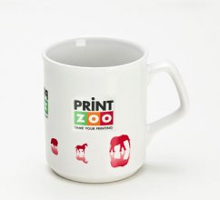 Flare Dye Sublimation Coffee Mug 300ml