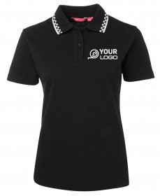 5LP JBs Ladies Chef Polo Shirt