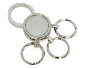 K3 Round and Round Promo Metal Keyring