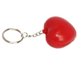 S35 Heart Promotional Stress Keyring