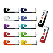 U07 Colour Swivel Flash USB