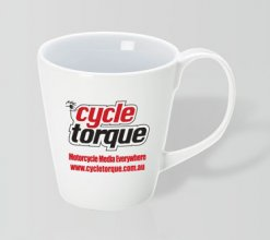 Curlz Promotional Coffee Mug 400ml