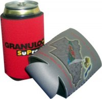CDIN10 3mm Flat Pak Promo Stubby Holder Full Colour