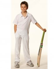PS29K Kids Short Sleeve Cricket Polo Shirt