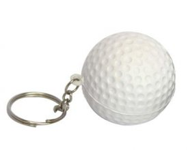 S30 Golf Ball Stress Ball Keyring
