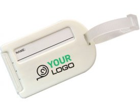 T50 Classic Luggage Tag with Logo