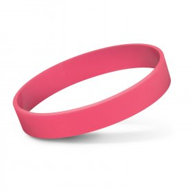 112806 Silicone Wrist Band - Embossed