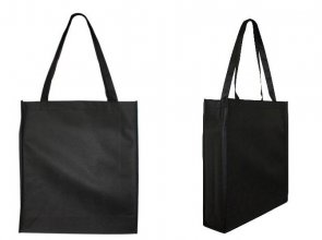 B08 Non Woven Large Promo Bag (With Gusset)