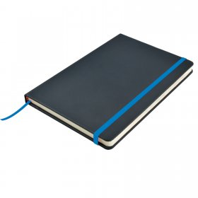 LL5087 Venture A5 PU Notebook with Elastic Closure