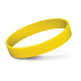 112805 Silicone Wrist Band - Debossed