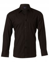 BS17 Pin Stripe Mens Business Shirt