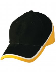 CH38 Tri-colour Baseball Cap