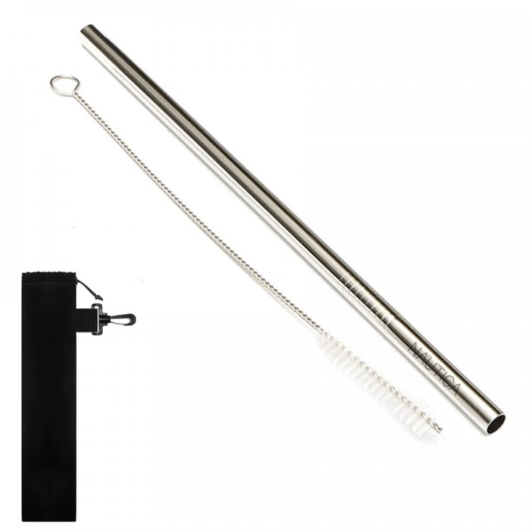 Promotional Steel Straws Printed - NP153 Reusable Stainless