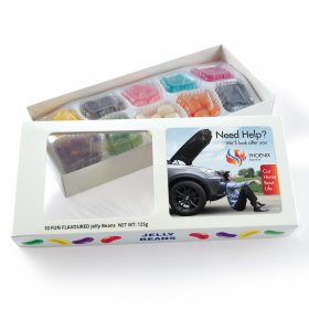 LL3156 Assorted Jelly Beans in Box - 125 Grams