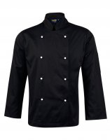 CJ01 Chefs Long Sleeve Jacket