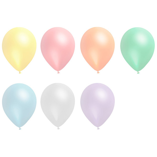 P30CM Pearl Promotional Printed Balloons