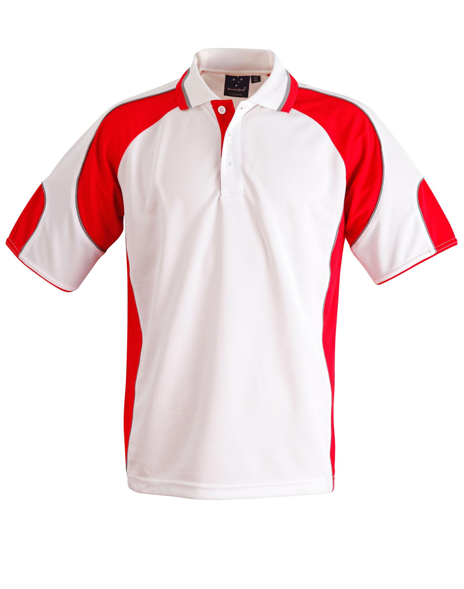 Ps61k kids cooldry contrast polo shirt with sleeve panels for Personalized polo shirts for toddlers